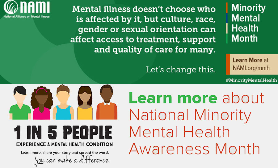 July Is Minority Mental Health Month Touchstone Mental Health